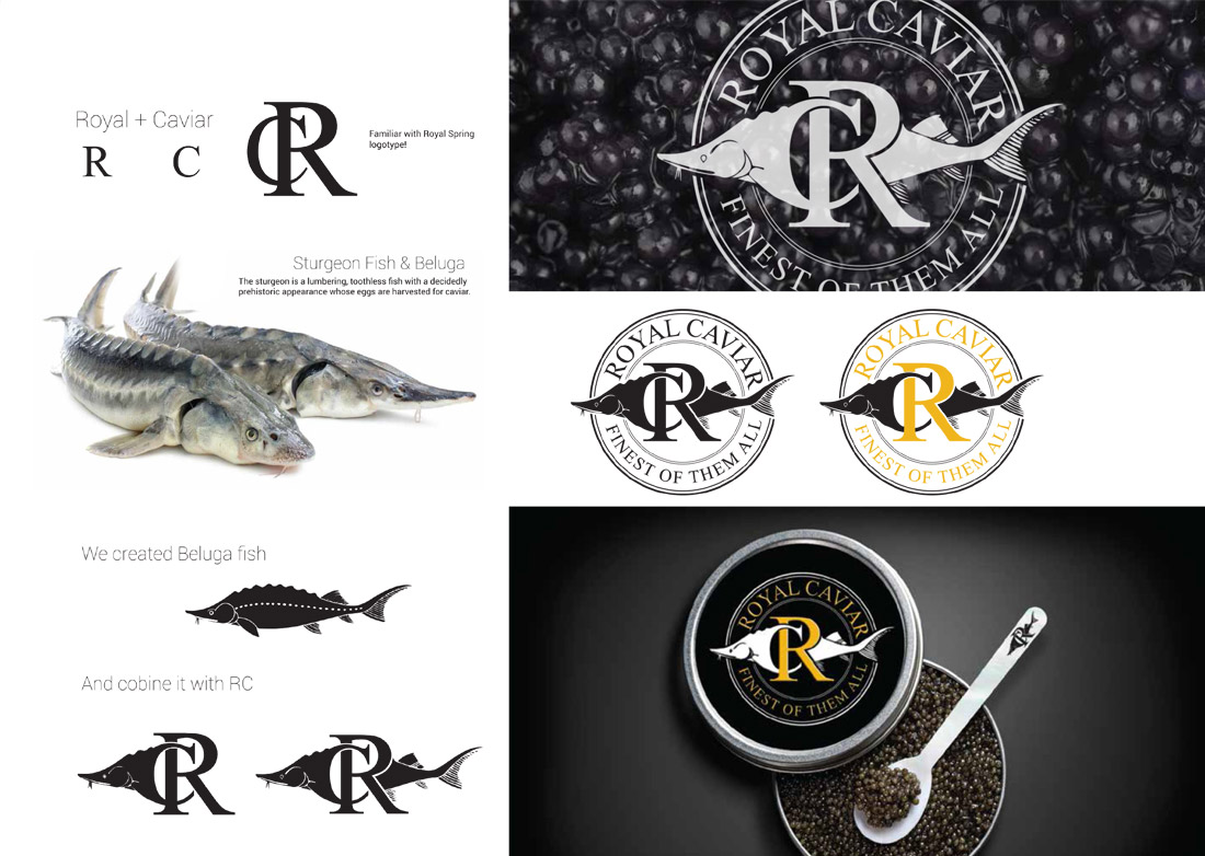 ROYAL CAVIAR LOGO DESIGN
